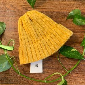 UO Mustard Beanie NEW